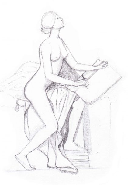 La statue