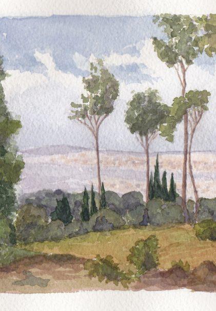 Vue sur Nancy (d'après Léopold Silice)