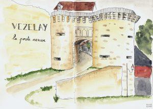 La porte neuve (Vezelay)